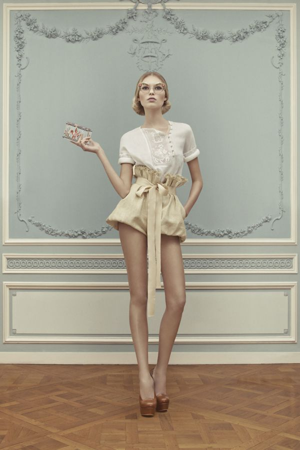 Ulyana Sergeenko, haute-couture spring summer 2013 - Gone With the Wind - love this collection - very inspirational and romantic