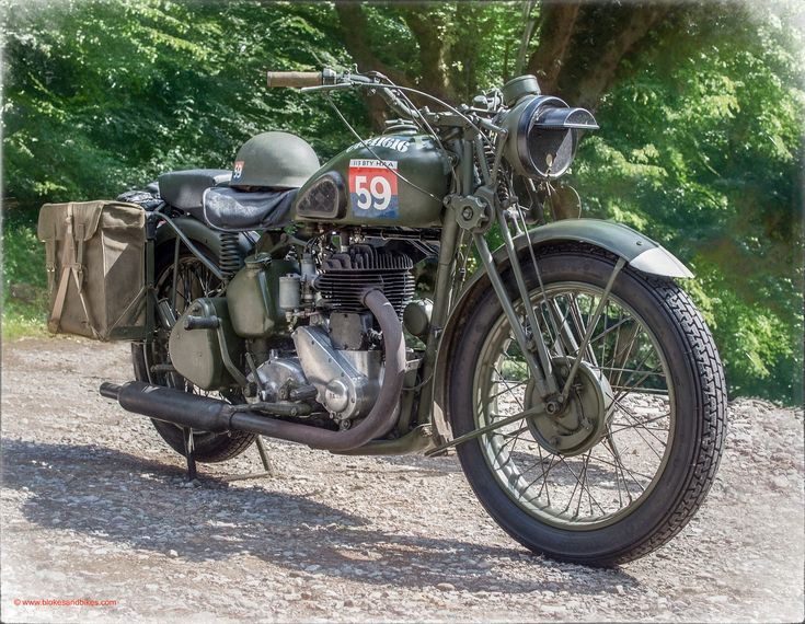 1940 BSA M20 500cc - 113th Heavy Anti-Aircraft Regiment, Royal Artillery