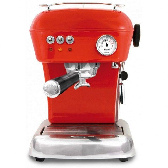 Ascaso Dream Espressomaskin - Rød