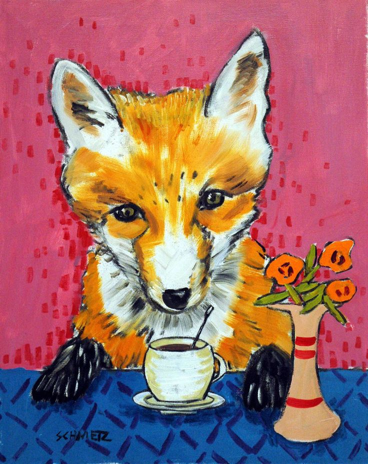 15 best Fox art images on Pinterest