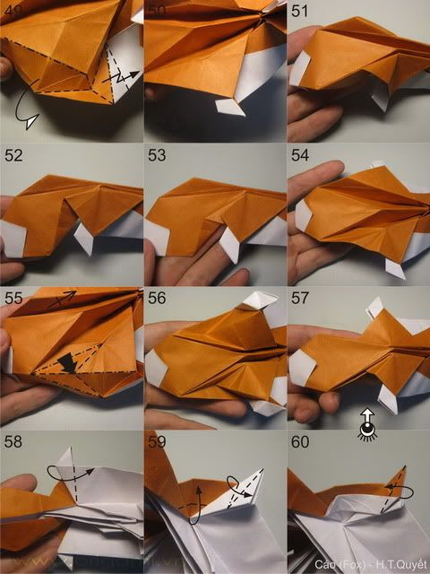 25+ best ideas about origami fox on pinterest | origami ... 3d origami fox diagram 3d animation process flow diagram
