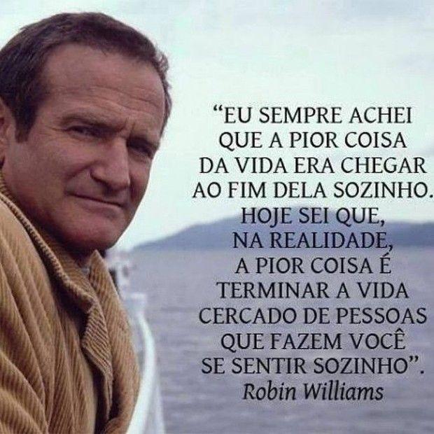 Robin Williams - uma das fotos mais propagadas nas redes sociais (Foto: Reprodução Instagram)