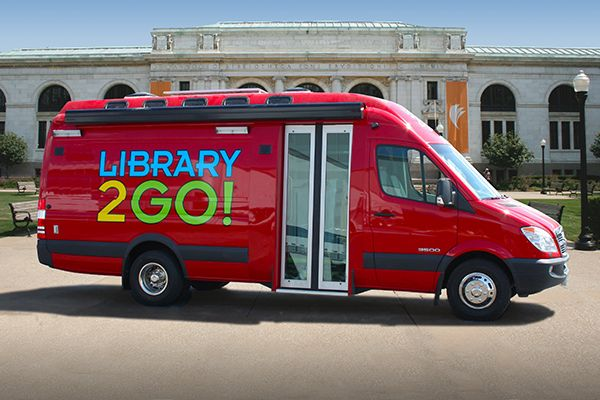 Farber Specialty Vehicles Sprinter Bookmobiles full
