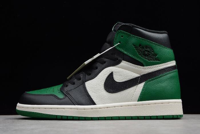 """5b22d372174637 Air Jordan 1 High OG """"Pine Green"""" 555088-302 For Sale"""