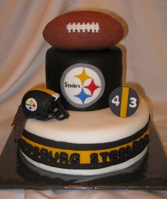 21 best Steelers cakes images on Pinterest Birthday cakes