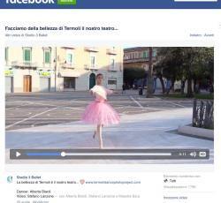 La ballerina che danza in Piazza Monumento, nuovo video del progetto - Primonumero.it