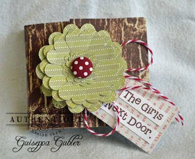 AUTHENTIQUE PAPER: The best things come in little packages!  Small mini album tutorial