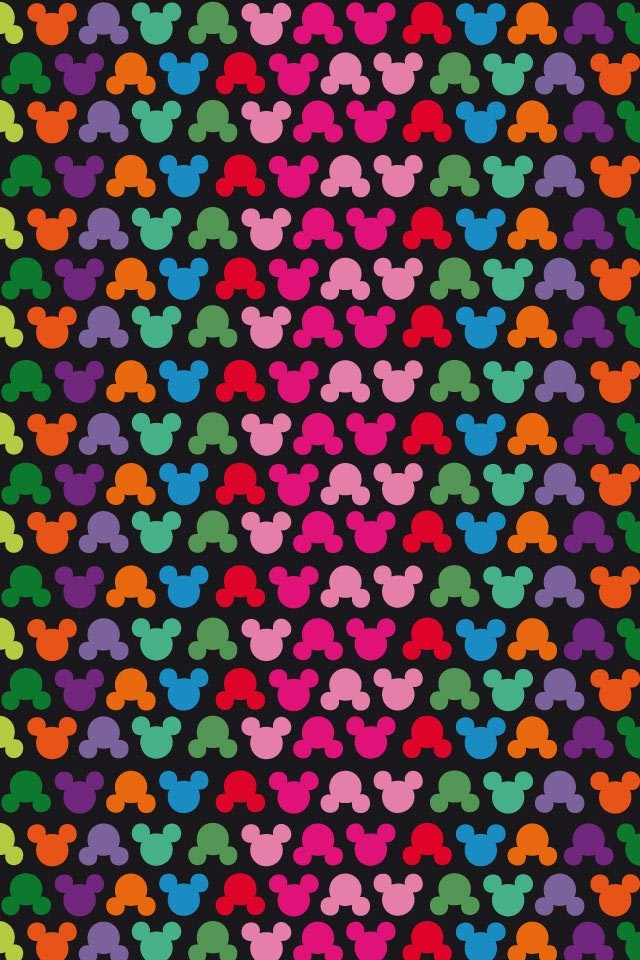 Colorful Mickey Background Pinterest Wallpapers