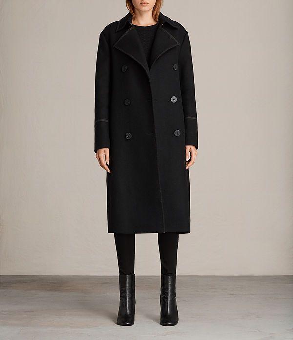 Women's Ripley Coat (Black) -