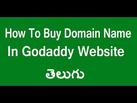 News Videos & more -  How To Buy Domain Name In Go Daddy Website Telugu | Buy Domain Name In Go daddy  Website Telugu #Music #Videos #News Check more at https://rockstarseo.ca/how-to-buy-domain-name-in-go-daddy-website-telugu-buy-domain-name-in-go-daddy-website-telugu/