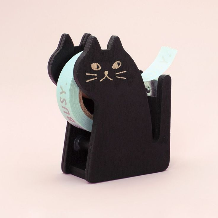 black cat tape dispenser from ban.do