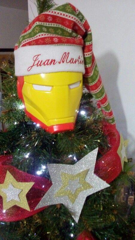 Arbol de Navidad super heroes