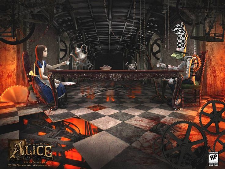 American McGee's Alice, only the best video game EVER.