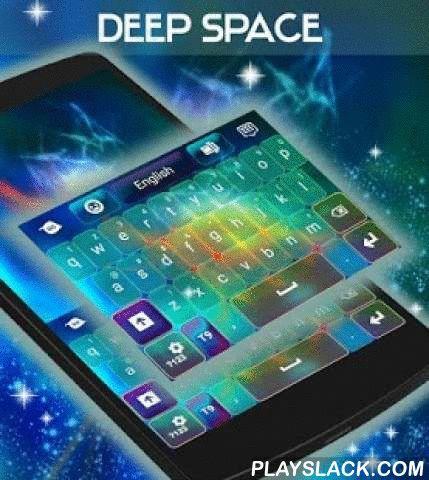 """Deep Space Keyboard  Android App - playslack.com ,  Maak een ritje in de kosmische ruimte en dan dit geweldige koele thema : DEEP SPACE TOETSENBORD ! DOWNLOAD Deep Space Keyboard NU en maak uw beeldscherm ziet er geweldig uit met deze heldere gekleurde achtergrond en prachtige graphics , gecombineerd door onze zeer getalenteerde ontwerpers voor uw dagelijkse smartphone-ervaring !- Om te installeren, volg deze 3 eenvoudige stappen : Openen na downloaden , drukt u op """"Instellen als Active…"""