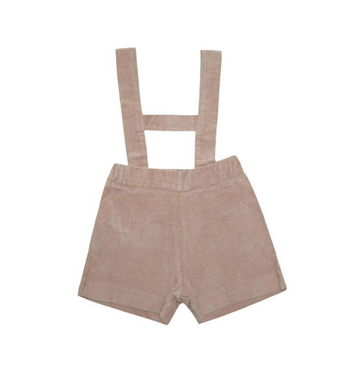 Spanish baby clothes | baby Dungaree | Camel dungaree |babymaC  - 1