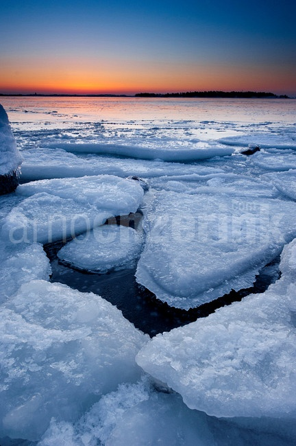 Ice breaking up from the frozen sea  © Arno Enzerink / www.stockphotography.nu All rights reserved.