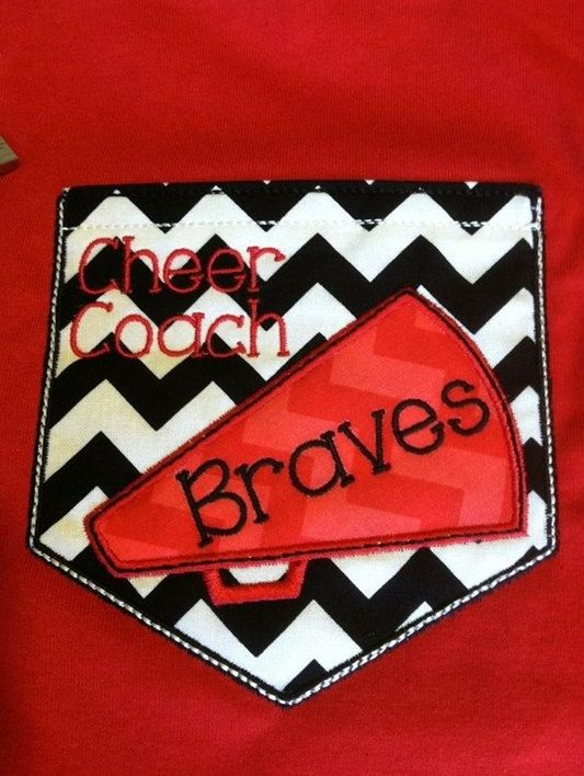 Short+Sleeve+Chevron+Pocket+tee+your+school+by+SewSparklyByHeather,+$23.00