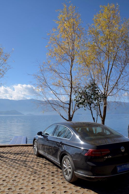 Self-driving allows you to explore places not possible via guided tours. Lugu Lake (Sichuan/Yunnan, China)