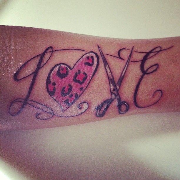 """Cute """"Love"""" Tat"""