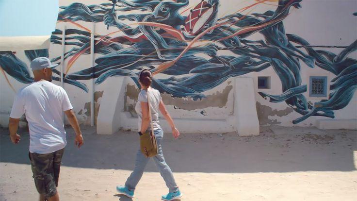 Djerbahood: street art in Erriadh, Djerba - True Tunisia season 1