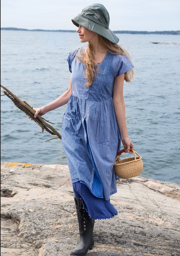"""""""Primula Mix"""" dress in cotton – Regular prices – GUDRUN SJÖDÉN – Webshop, mail order and boutiques 