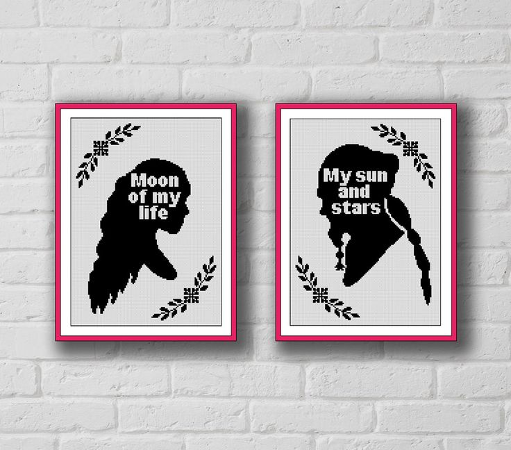 BoGo Pattern cross stitch Daenerys and Drogo, Game of Thrones Instant Download, Cross-Stitch PDF, Needlework, Embroidery, Digital #128 by LolitaMade on Etsy