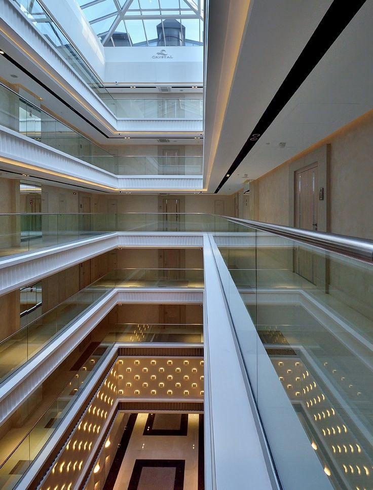 Дизайн парадных интерьеров апарт-отеля «CRYSTAL» Санкт-Петербург (5000 кв.м.) - Дизайн-студия ICON