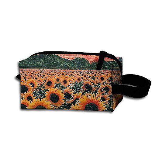 de4d62a5fea1 Sunflower Travel Wrist Bag Change Purse Coin Wallet Card Holder ...