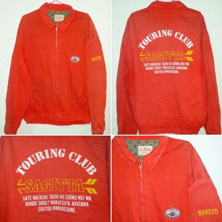 vintage levis yacth jacket touring club..