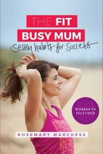 Get motivated and organised with my book for real mums who want to be healthy but still have time for their family and friends http://thefitbusymum.com.au/product/fit-busy-mum-seven-habits-success/