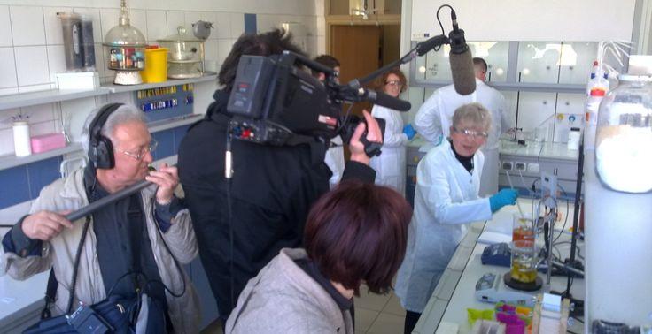 badania w laboratorium Politechniki Śląskiej