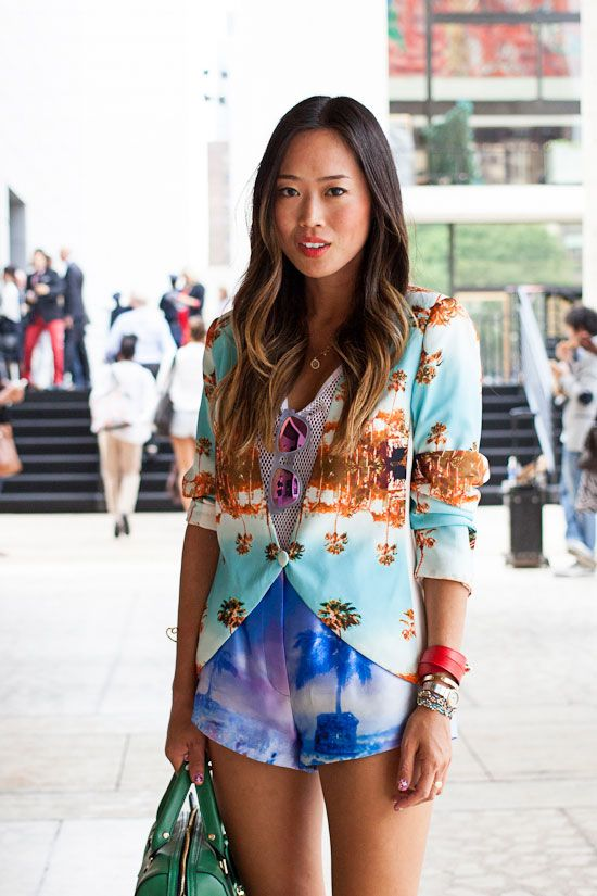 Aimee Song Song Of Style New York Fashion Week Girls