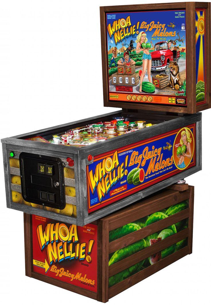 New Whoa Nellie Pinball Machine by Stern Pinball ...
