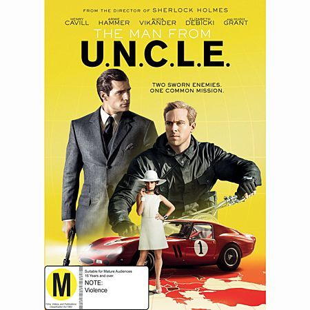 The Man From Uncle DVD