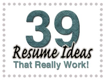 General Resume Ideas And Tips Http://www.career Choice Guide