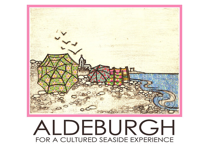Aldeburgh Travel Poster