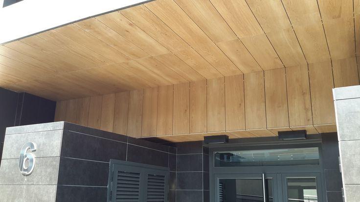 #maderacerámica #cerámica #tiles #fachada #fachadacerámica #facade #maderaexterior