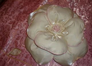 Tina's handicraft : photo tutorial decorative cushion