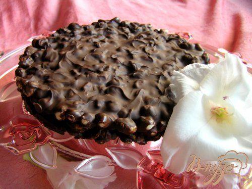 Хрустящий шоколадный торт - Простые рецепты Овкусе.ру