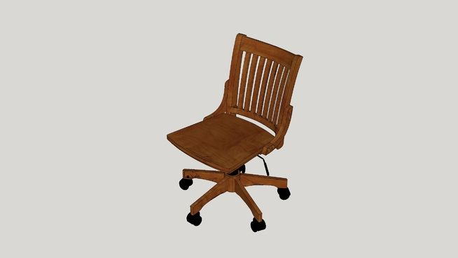 Large preview of 3D Model of Murrin Fairport Bankers Chair