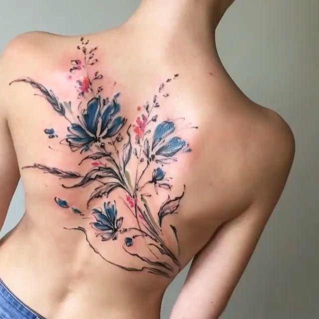 Design © @aleksey_platunov_tattoo  Russia / Washington DC / Traveling  Contact on IG / VK / FB: @aleksey_platunov_tattoo  #tattrx #alekseyplatunov #tattoo #tattoos #sketchbook #sketchaday #watercolor #watercolortattoo #flowertattoo #flowerstagram #floweroftheday #flowersofinstagram #artistsoninstagram #artlife #artoftheday #arte #tatuaje #tatuagem #tatuaggio #dövme #tattooist #tattooartist #татуировки #тату #России
