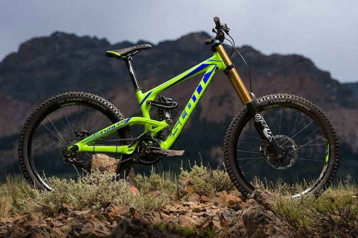 Scott downhill bike