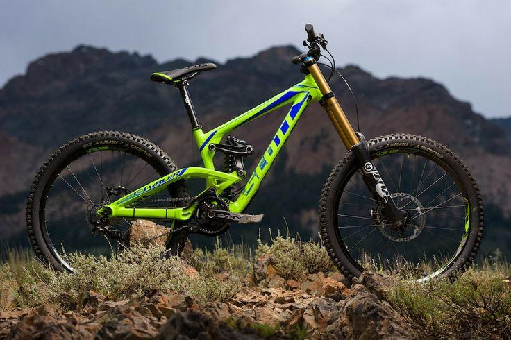 Scott downhill bike