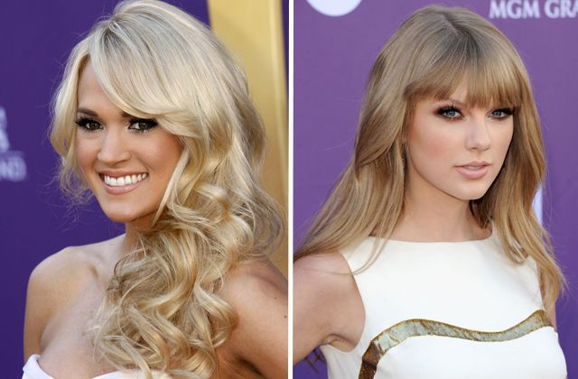 Completely adore both of them!  Taylor Swift is making me want to get bangs again...