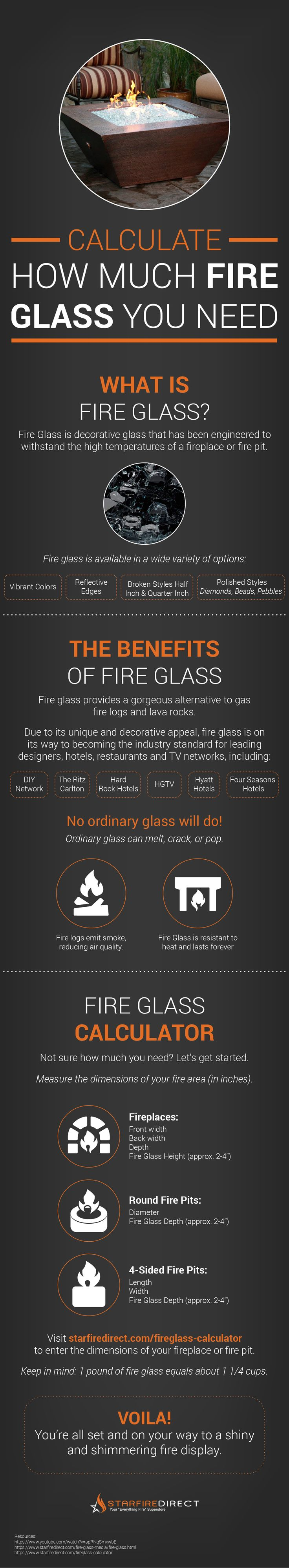 When you purchase an outdoor gas fireplace or fire pit, there is no better element to add than fire glass.