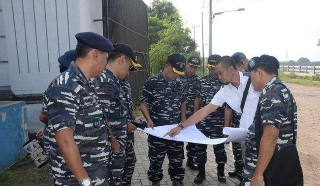 TNI AL bangun fasilitas pelatihan pasukan di Surabaya