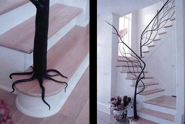 beautifully designed bannister - Amazing Staircases