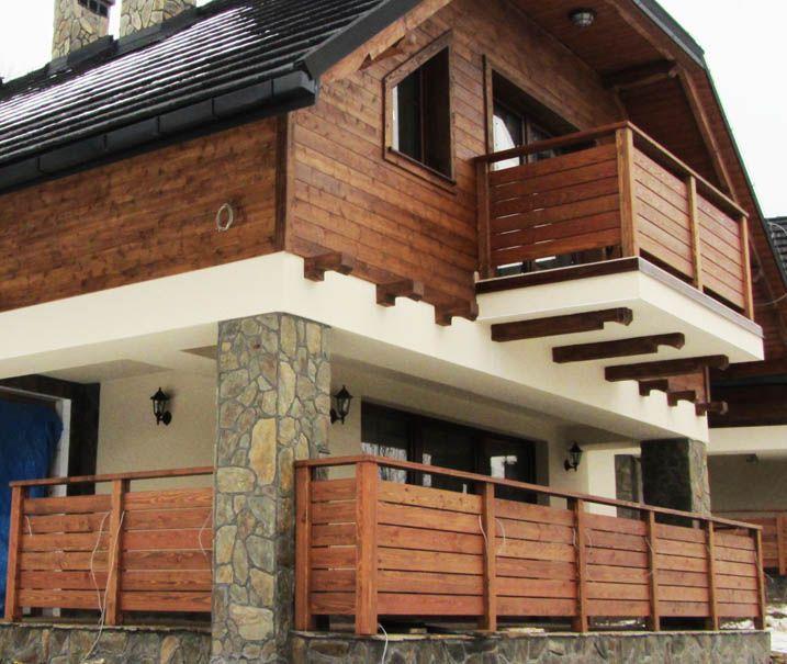 Balustrady Balkonowe Drewniane 202 House In 2019 House