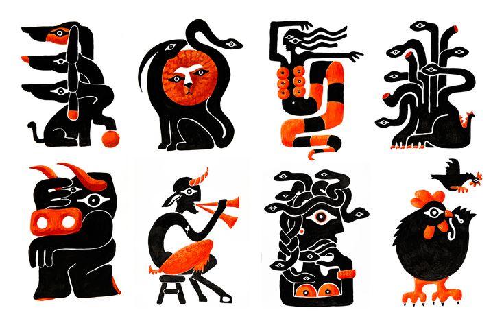 Beetroot -+ The misunderstood monsters of Greek Mythology