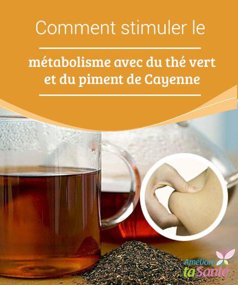 Comment stimuler le métabolisme avec du thé vert et du